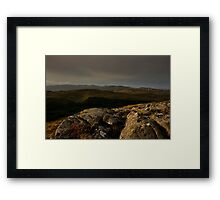 Bluestacks From The South Framed Print
