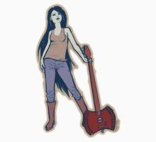 Marceline w/ Axe 1 by StudioAcramill