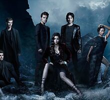 Vampire Diaries Season 5 Cast by Sara Barnes