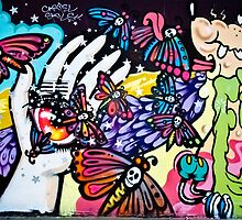 Hallucinogenic Graffiti Art.Back to sixties by yurix
