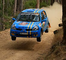 Airtime For Guy Tyler - FIA Australian Rally Championship 13.09.2013 by Noel Elliot