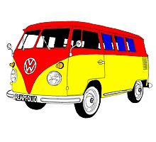 VW Camper by Richard Edwards