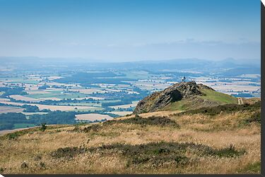 Wrekin view by John Hallett