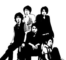 [J-POP DESIGNS] ARASHI BAND by MLNINJA94