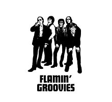 FLAMIN' GROOVIES NOW COOL IPHONE CASE by westox