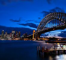 Sydney Skyline Panorama 2 by Michael Clarke