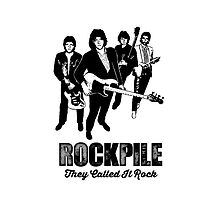 ROCKPILE NICK LOWE DAVE EDMUNDS PUBROCK COOL IPHONE CASE by westox