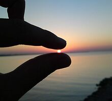 Finger Sea Sunset by GaryWood