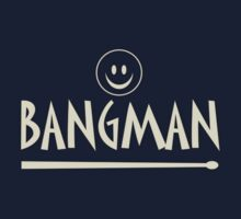Bangman decoration Clothing & Stickers by goodmusic