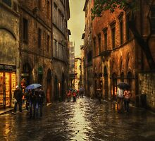 Rainy Day in Sienna by Robyn Carter