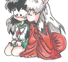 Inuyasha and Kagome  by RamsesXll
