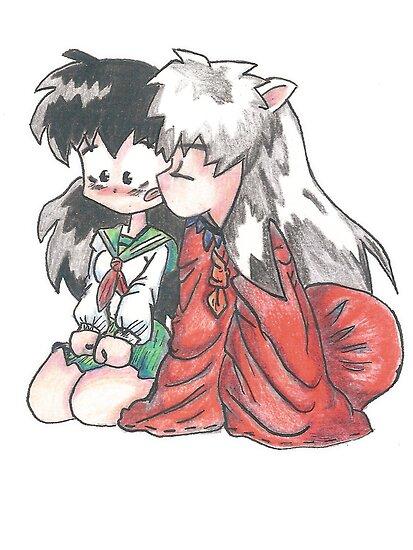 Inuyasha and Kagome  by RamsesXll