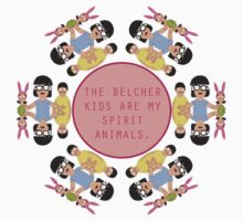 Belcher Spirit Animals by therabbitabacus