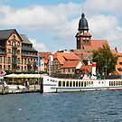 The harbour at Waren Müritz, Mecklenburg, Germany. by David A. L. Davies