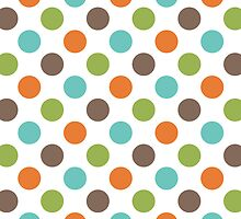 Colorful Polka Dots by kwg2200