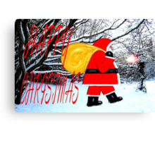 HAPPY CHRISTMAS 41 Canvas Print