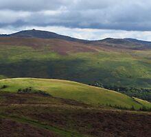 Moel Famau, Clywdian Range, Cymru by wiggyofipswich