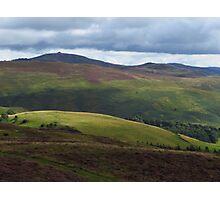 Moel Famau, Clywdian Range, Cymru Photographic Print