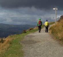 Offa's Dyke Path, Clwydian Range by wiggyofipswich