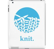 Knit. iPad Case/Skin