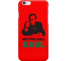 Better Call Saul (Red) iPhone Case/Skin
