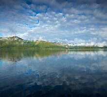 Clouds over Catbells by Martin Lawrence