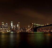 NYC Skyline by Hvistendal Photography