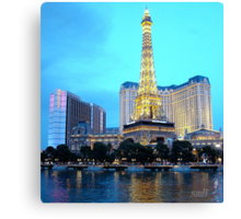 Only In Vegas #1 Canvas Print