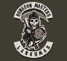 Dungeon Masters Biker Patch - Lankhmar by Azhmodai