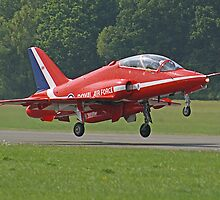 Red Arrow Take Off - Dunsfold 2013 by Colin J Williams Photography