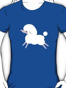 White poodle! puppy dog super cute! T-Shirt