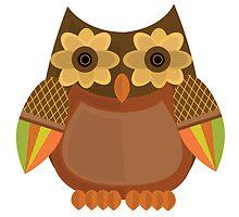 Harvest Owl - Brown by Adamzworld