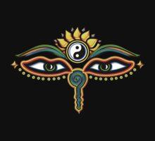 Buddha eyes, symbol wisdom & enlightenment, Kids Clothes