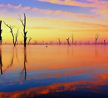 Dawn - Lake Mulwala by Hans Kawitzki