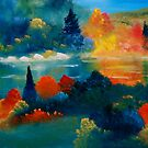 Autumn At Belgrade Lake by David Snider