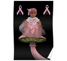 ✿♥‿♥✿HELP FIND A CURE CANCER AWARENESS PICTURE/CARD HEARTFELT DEDICATION✿♥‿♥✿ Poster