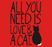 All You Need Is Love and A Cat Kids Clothes