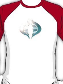 Cobra Logo Silverish T-Shirt