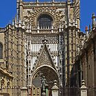 Seville Cathedral Entrance by MikeSquires