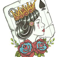 Queen Of Spades by CommodoreKate