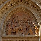Tympanum with Bas-relief, Seville Cathedral. by MikeSquires