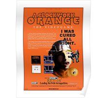 'A Clockwork Orange: The Videogame' Vintage Game Advert Poster