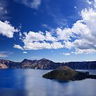 Big Sky over Crater Lake National Park by DArthurBrown