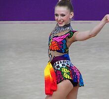 Rhythmic Gymnast - Jasmine Kerber - USA by M-EK