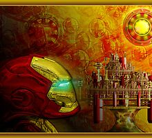 ©DA The Iron Man Check Fractal IA by OmarHernandez