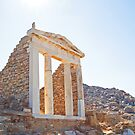 Temple on Delos by julie08