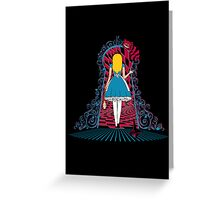 Spinning Wonderland Greeting Card