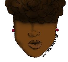 Natural Hair Up-do by artbyIfe
