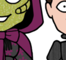 Madame Vastra and Jenny (sticker) Sticker
