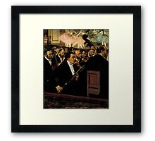 Edgar Degas French Impressionism Oil Painting Ballet Framed Print
